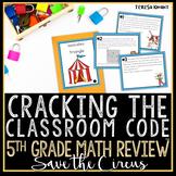 Cracking the Classroom Code™ 5th Grade Geometry Escape Room