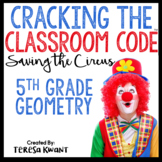 Cracking the Classroom Code™ 5th Grade Geometry Escape Room