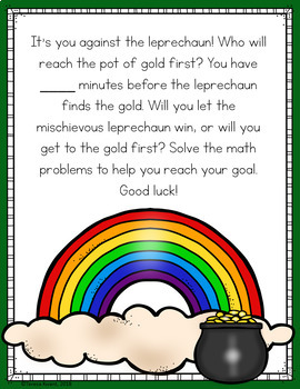 Cracking the Classroom Code™ 5th Grade St. Patrick's Day Math Escape Room Game