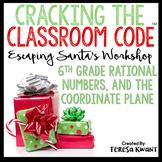 Cracking the Classroom Code® 6th Grade Math Christmas Escape Room