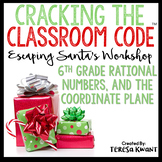 Cracking the Classroom Code® 6th Grade Math Christmas Escape Room