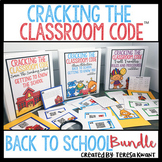 Cracking the Classroom Code™ Back to School Escape Room Bundle