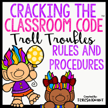 Cracking the Classroom Code™ Back to School Rules and Procedures Escape Room