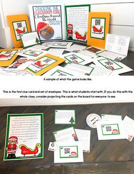 Cracking the Classroom Code™ Christmas Around the World Escape Room Upper Grades