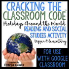 Cracking the Classroom Code™ Holidays Around the World Escape Room Game