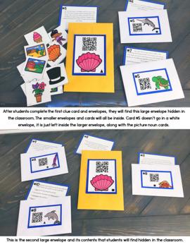 Cracking the Classroom Code™ Parts of Speech for 3-5 Grade Escape Room
