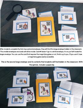 Cracking the Classroom Code™ Punctuation Escape Room Grades 3-5