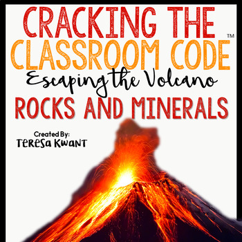 Cracking the Classroom Code™ Rocks and Minerals Science Escape Room