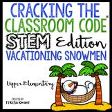 Cracking the Classroom Code® STEM Escape Room Snowman Catapult