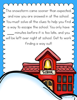 Cracking the Classroom Code® Science Escape Room All About Weather