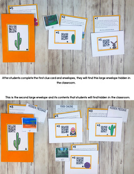 Cracking the Classroom Code® Science Escape Room Biomes and Ecosystems