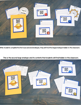 Cracking the Classroom Code™ Solar System Science Escape Room