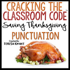 Cracking the Classroom Code™ Thanksgiving ELA Punctuation Escape Room Game