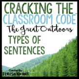 Cracking the Classroom Code™ Types of Sentences Escape Room Grades 3-5