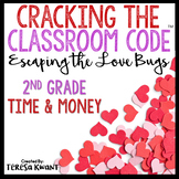 Cracking the Classroom Code™ Valentine's Day 2nd Grade Math Escape Room Game