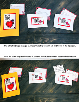 Cracking the Classroom Code™ Valentine's Day 3rd Grade Math Escape Room