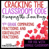 Cracking the Classroom Code™ Valentine's Day 4th Grade Math Escape Room
