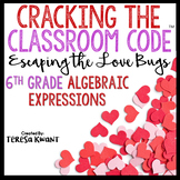 Cracking the Classroom Code® Valentine's Day Math Escape Room 6th Grade