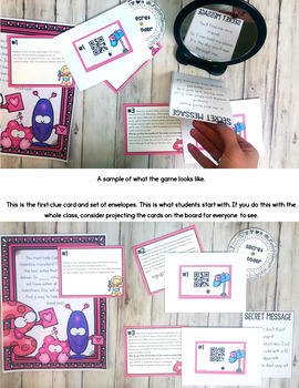 Cracking the Classroom Code® Valentine's Day STEM Escape Room Lower Elementary