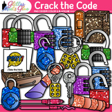 Crack the Code Clip Art: Classroom Escape Game Graphics {Glitter Meets Glue}