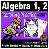 Cracking the Code: Factoring Review