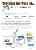 Cracking the Code...Vocabulary