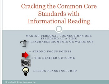 Cracking the Common Core with Informational Reading
