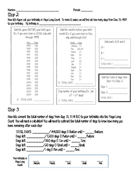 Cracking the Mayan Code & Maya Long Count
