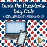 Crack the Presidents' Day Code: A Digital EduEscape™ Game