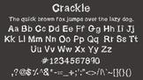 Crackle Font