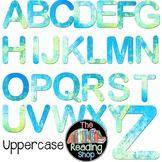 Digital Alphabet Letters