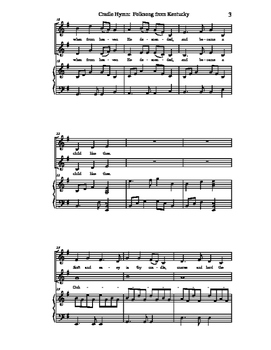 Cradle Hymn: Folksong from Kentucky