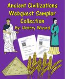 Ancient Civilizations Webquest Sampler Collection (12 Webquests)