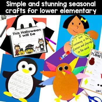 Craft Activities (12 seasonal activities for grades K-2)