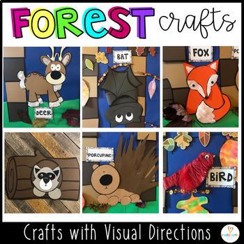 Craft Activities and Centers for Preschool and Kindergarten {BUNDLE}