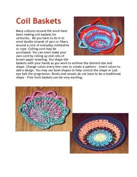 Craft Coil Baskets