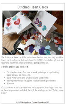 Craft Lesson Plans: Homemade Gifts Kids Can Make from the HeART