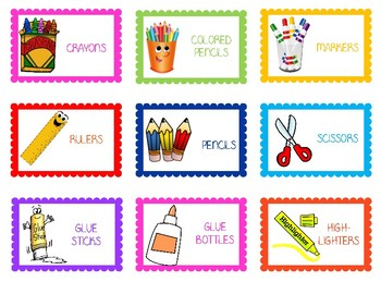 Craft Organization Labels