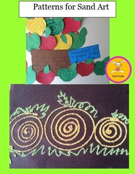 Craft Patterns - Sand Art - 8 Patterns for making Colored