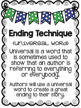 Craft Plus Writing Posters (UPDATED and EDITABLE)