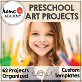 62 Arts and Craft Projects for Ages 2-7, Organized, With T