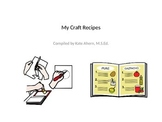 Craft Recipe Book