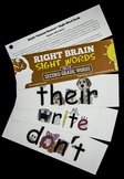 Craft Right Brain Dolch Second Grade Sight Words