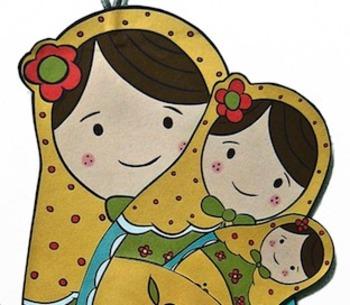 Craft - Russian Nesting Doll Set