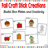 Craft Stick Mats for Fall (Fine Motor Morning Exploration Tubs)
