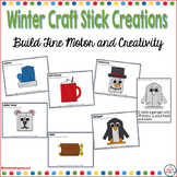 Craft Stick Mats for Winter (Fine Motor Morning Exploration Tubs)