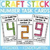 Craft Stick Number Task Cards