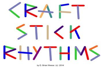 Craft Stick Rhythms