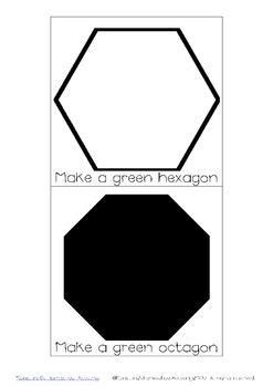 Craft Stick Shape Cards *Mathematics Manipulatives*