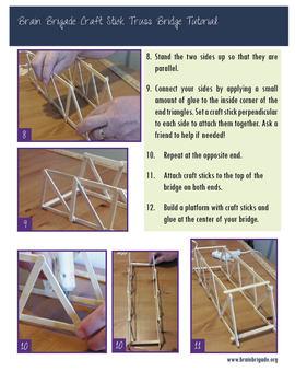 Craft Stick Truss Bridge Tutorial | Maker Space, Make Activity, STEAM promoting